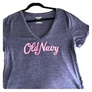 Old navy vintage V-neck tee